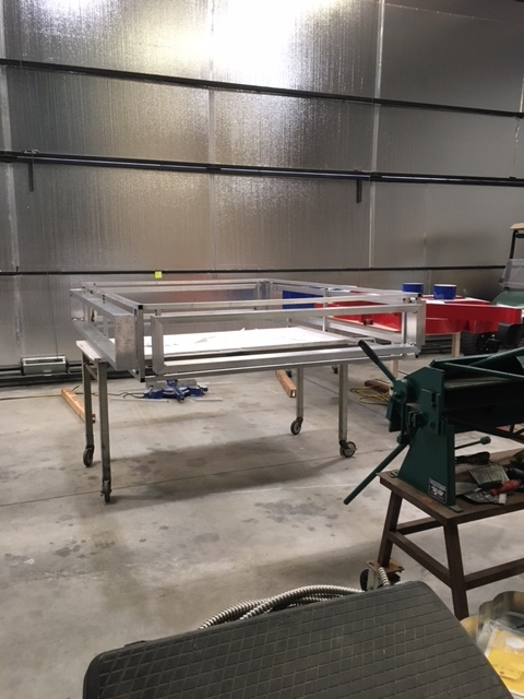 COIN-OP Fabrication - Marquee Base