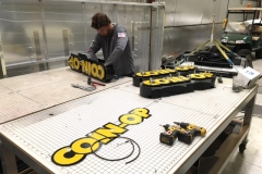 COIN-OP Fabrication - Marquee