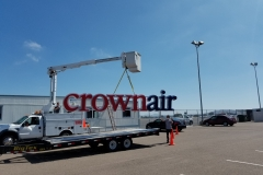 Crown Aviation Installation Bucket Truck