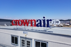 Crown Aviation Custom Sign Final Close