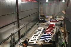 Crown Aviation Custom Sign Fabrication Projects