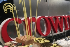 Crown Aviation Custom Sign Fabrication Close