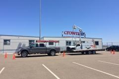 Crown Aviation Installation Bucket Truck
