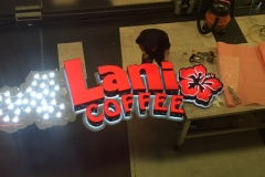 Lani Coffee Fabrication Light