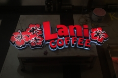 Lani Coffee Fabrication Dark Light