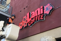 Lani Coffee Installation Bucket Truck