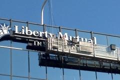 Liberty Mutual Installation Swing Stage