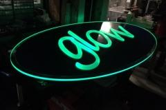 SeaWorld Glow Fabrication Dark Green