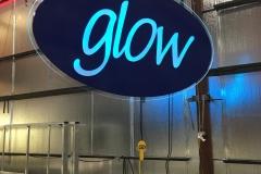 SeaWorld Glow Fabrication Light Blue