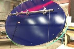 SeaWorld Glow Fabrication Sign Back