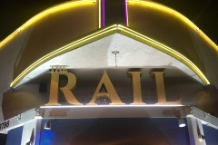 THE RAIL Front Final Night