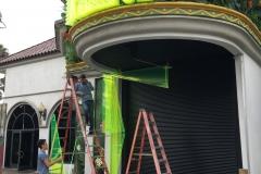 Xanadu 7D Theater Installation Tunnel Sides