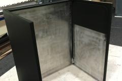 Xanadu 7D Theater Podium Fabrication Back No Shelf