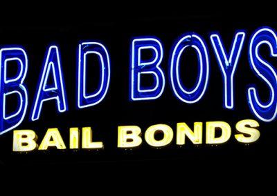 BAD BOYS BAIL BONDS SIGN REPAIR