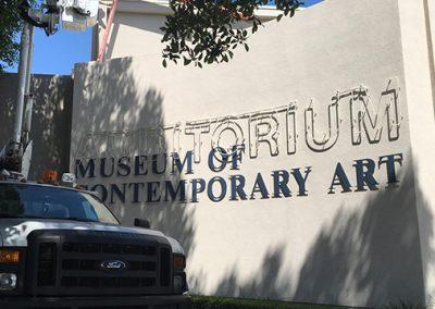 AUDITORIUM MUSEUM OF CONTEMPORARY ART
