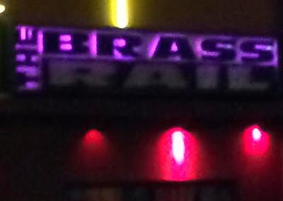 BRASS RAIL