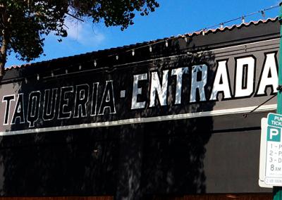 TAQUERIA ENTRADA