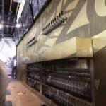 interior metal fabrication restaurant bar